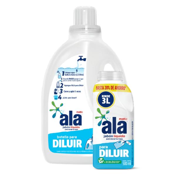 Jabón Líquido para Diluir + Botella 3L Gratis