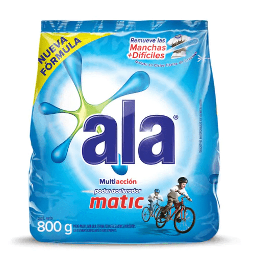 Jabón en Polvo Ala Matic paquete