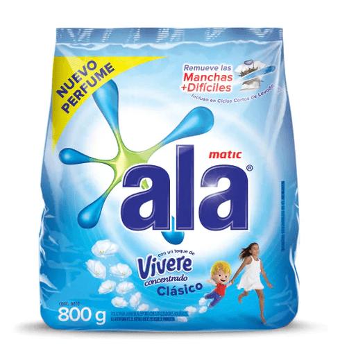 Jabón en Polvo Ala Toque de Vivere Matic paquete