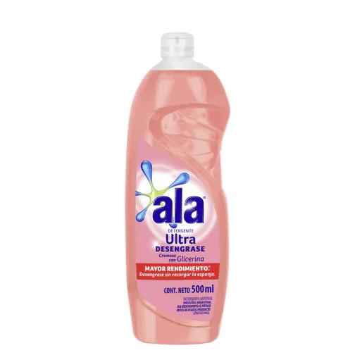 Detergente Ala Ultra Desengrase Cremoso Con Glicerina paquete