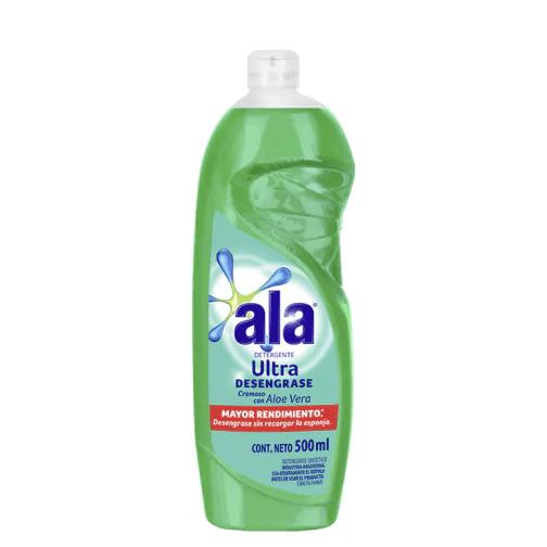 Detergente Ala Ultra Desengrase Cremoso Con Aloe Vera paquete