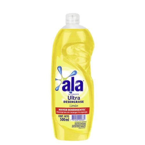 Detergente Ala Ultra Desengrase Limón paquete