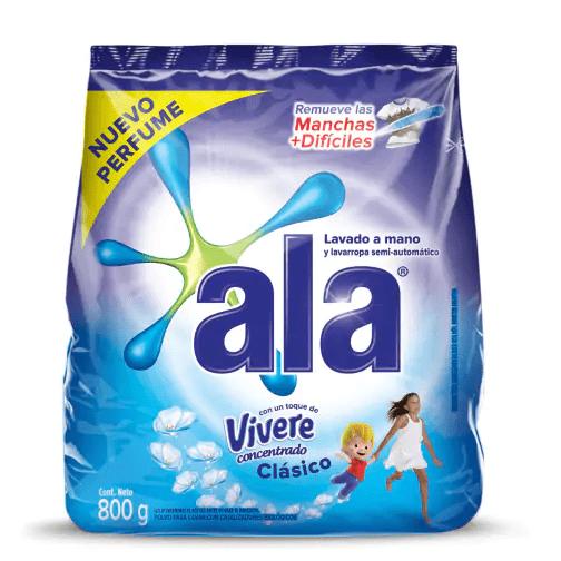 Jabón en Polvo Ala Toque de Vivere Lavado a Mano paquete